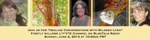 EPISODE 16: Healing Conversations with Mildred Lynn – HEALING WITH PLANTS;  THE POETRY OF BALANCE; Round Table Topic – LIFE WISDOM