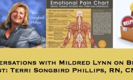 EPISODE 39: Healing Conversations with Mildred Lynn – Teaching Empowerment One Transformation at a Time with Terri Songbird Phillips