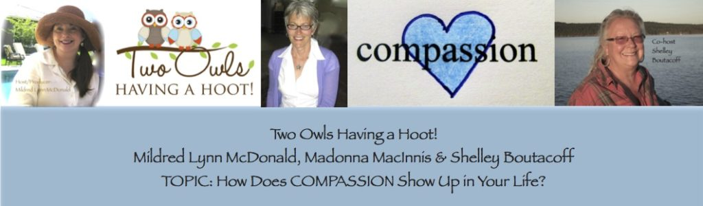 Group Shot - Two Owls Having a Hoot! - Compassion - June 15, 2016